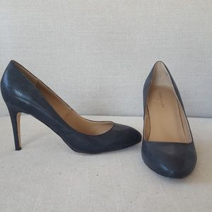 Ann Taylor Heels- Blue